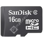 Sandisk 16GB Micro SD-HC High Capacity Memory Card