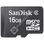 Sandisk 16GB Micro SD-HC High Capacity Memory Card