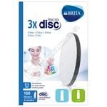 Brita MicroDisc Filter Refill - Pack of 3