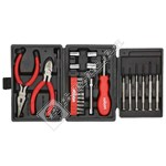 Rolson 26 Piece Mini Trifold Tool Kit