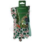 Kingfisher Ladies Polka Dot Gardening Gloves