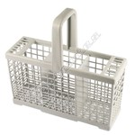 White Dishwasher Cutlery Basket (120mm x 240mm x 135mm)