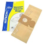 Electruepart BAG93 Hitachi Vacuum Dust Bags (CV Type) - Pack of 5