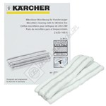 Karcher Window Vac Microfibre Cloths - Pack of 2