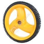 Rear Lawnmower Wheel & Tyre Assembly