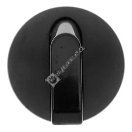 Zanussi Black Gas Hob Control Knob - ES610591