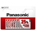 Panasonic AAA Zinc Carbon Power Batteries - Pack of 10