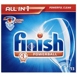 Electrolux Finish Original All in One Powerball Tablets for ESI6105X - ES1589353