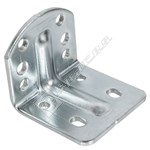 White Lower Refrigerator Hinge