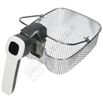 Electric Fryer Basket And Handle Assembly