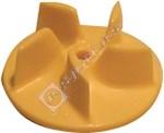 Vacuum Yellow Plastic Fan Blade