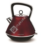 Morphy Richards Evoke 100108 Red Pyramid Kettle