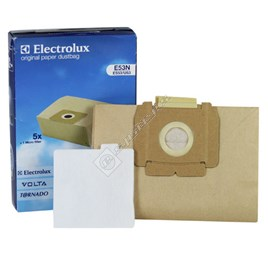 E53N Vacuum Paper Bag and Filter Pack - ES546003