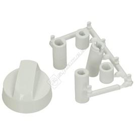 Universal Multifit Cooker Control Knob - White - ES1635533