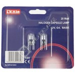 Lyvia 20W G4 Capsule Halogen Bulbs - Warm White