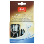 Melitta Filter Coffee Machine & Kettle Anti-Calc Tabs – Pack of 4