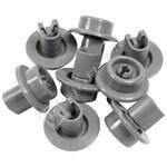 Compatible Lower Dishwasher Basket Wheel - Pack Of 8