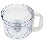 Food Processor Bowl Assembly (White Handle)