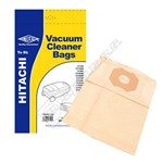 Electruepart BAG22 Hitachi PB43/5 Vacuum Dust Bags - Pack of 5