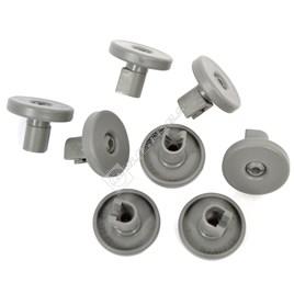 Tricity Bendix Lower Front Dishwasher Basket Wheel Kit - Pack of 8 - ES551899