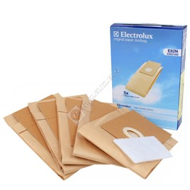 Electrolux E82N Vacuum Paper Bag and Filter Pack for Z2911DZ Hilight - ES104353