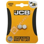JCB LR44 Battery - Pack of 2