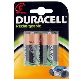 Duracell C Rechargeable Batteries - 2 Pack - ES1387103