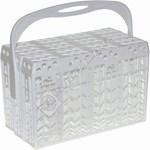 White Dishwasher Cutlery Basket