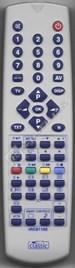 Compatible TV Remote Control for 22 AV1011/03 - ES515340
