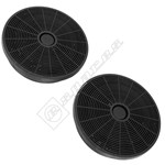 Cooker Hood Carbon Filter - Pack of 2
