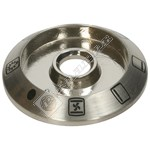 Oven Control Knob Bezel - Stainless Steel