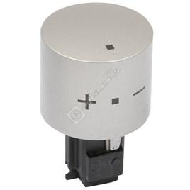 Oven Temperature Knob - Stainless Steel - ES1737019