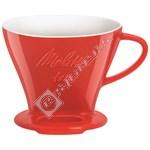 Melitta Porcelain Pour Over Filter Holder Cone 1x4®