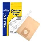 Electruepart BAG124 Nilfisk GM Vacuum Dust Bags - Pack of 5