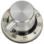 Chrome Main Oven 9 Function Control Knob