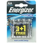 Energizer Ultimate Lithium AA Batteries - Pack of 3+1 FREE
