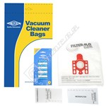 Compatible Vacuum Cleaner Dust Bags & Air Fresheners Kit
