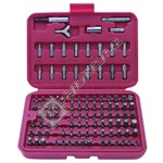 Rolson 100 Piece All Purpose Screwdriver Bit Set