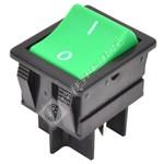 Vacuum Green On/Off Rocker Switch