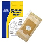 Sbag BAG140 E15 E40 E200 & E200B Dust Bag - Pack of 5
