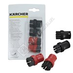 Karcher Steam Cleaner Round Brush Set - Pack of 4
