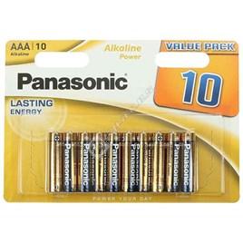 Panasonic AAA Alkaline Power Batteries - Pack of 10 - ES1553983