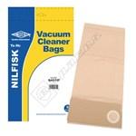 Electruepart BAG197 Nilfisk Vacuum Dust Bags (GU Type) - Pack of 5