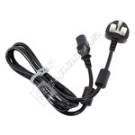 TV Power Adapter Mains Cable