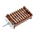 Cooker Hotplate Selector Switch EGO 42.0800.025 or Gottak 880808K