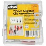 Rolson 7 Piece Alligator Clip Kit