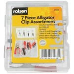 Rolson 7 Piece Alligator Clip Kit