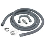 Universal Washing Machine & Dishwasher 2.5M Waste Drain Extension Kit
