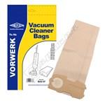 Electruepart BAG97 Vorwerk (VK Type) Vacuum Dust Bags - Pack of 5