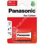 Panasonic 9V Zinc Chloride Battery - Box of 12